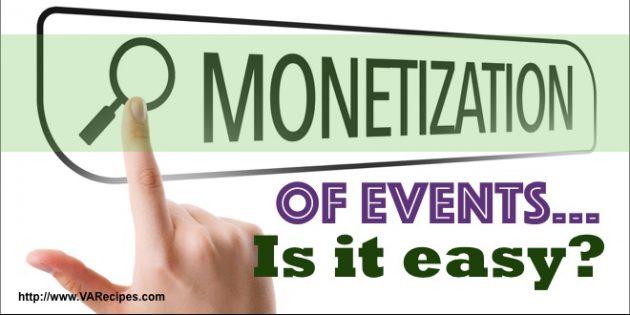 Event Monetization Pitfalls