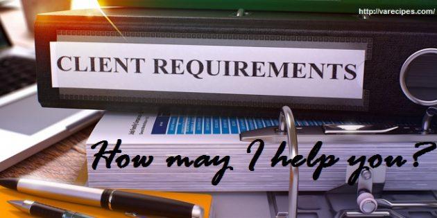 client's needs
