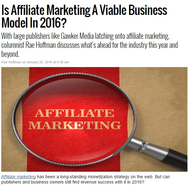Affiliate Marketing Strategy 1