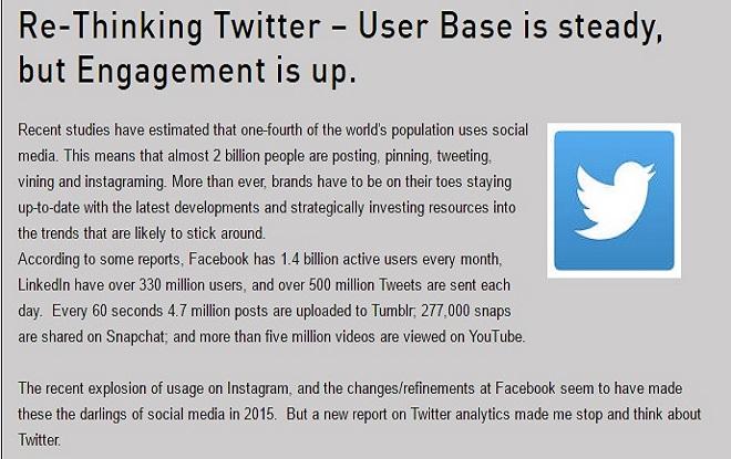 Twitter Marketing Strategy