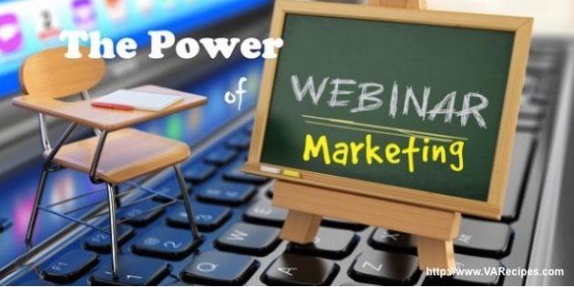 The Power of Webinar Marketing