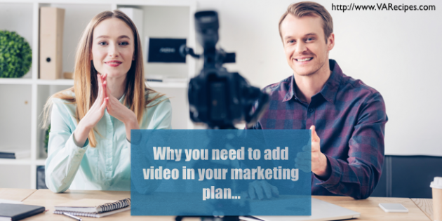 video marketing tweet