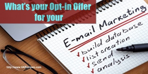 Opt-in Offer