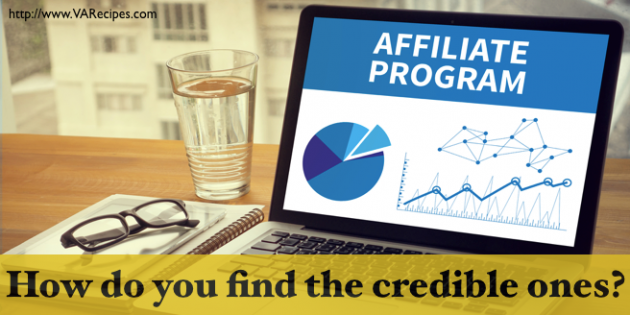 credible affiliate programs