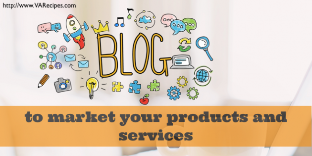 Blog to market